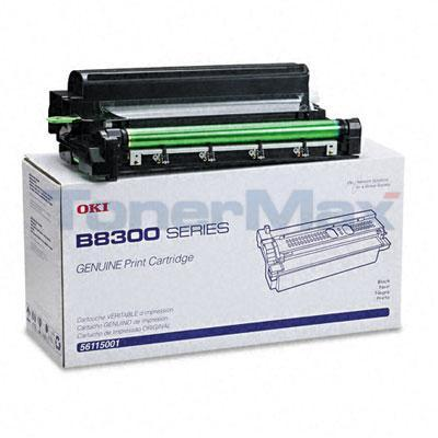OKIDATA B8300N TONER CARTRIDGE BLACK